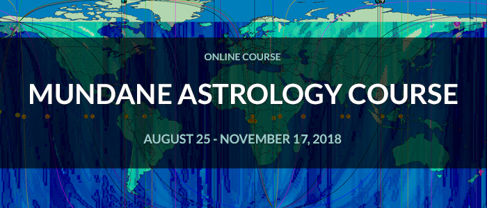 Mundane Astrology Course