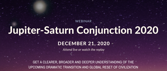 Jupiter-Saturn Conjunction 2020 Webinar by William Stickevers