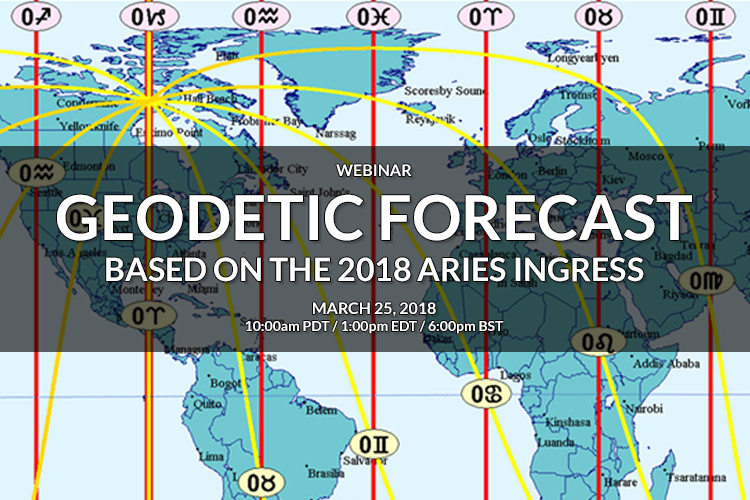 Geodetic Forecast based on the 2018 Aries Ingress Webinar with William Stickevers